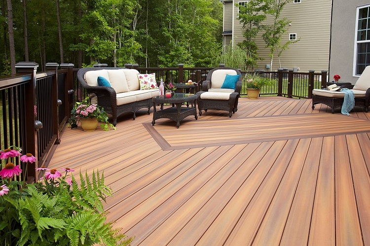 Treat your Terrace with Composite Decking